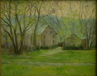 Judith Fritchman Artwork Spring Promise, 2005 Oil Painting,