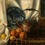 Still Life with John and Priscilla By Judith Fritchman