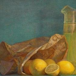 , When Life Gives You Lemon, Still Life, $1,680
