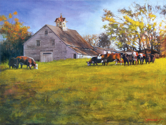 Artist John Gamache. 'Finally Home' Artwork Image, Created in 2015, Original Giclee Reproduction. #art #artist