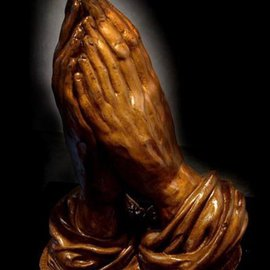Jessica Goldfinch Artwork Praying Hands, 2010 Other Sculpture, Conceptual