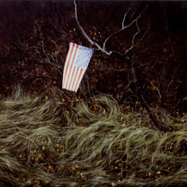 Landscape With Flag, James Gwynne