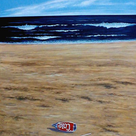 Seascape with Coke By James Gwynne