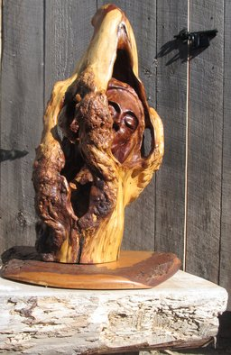 John Clarke Artwork first born, 2010 Wood Sculpture, Abstract Figurative