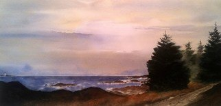 Artist: Don Bradford - Title: Path to Ucluelet - Medium: Watercolor - Year: 2011