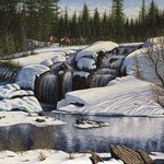 Spring Thaw By James Hildebrand