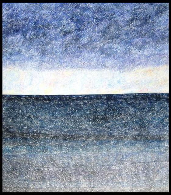 Artist Jim Haldane. 'Seascape 1' Artwork Image, Created in 2003, Original Painting Acrylic. #art #artist