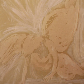 Jim Lively Artwork Another Fallen Angel, 2014 Other, Abstract Figurative