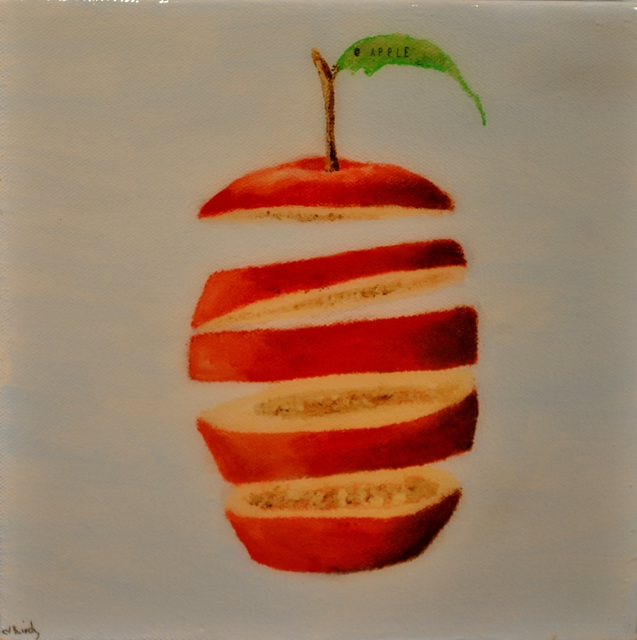 Jim Lively  'Apple', created in 2011, Original Photography Color.