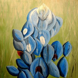 Bluebonnets For Mary Alice  By Jim Lively