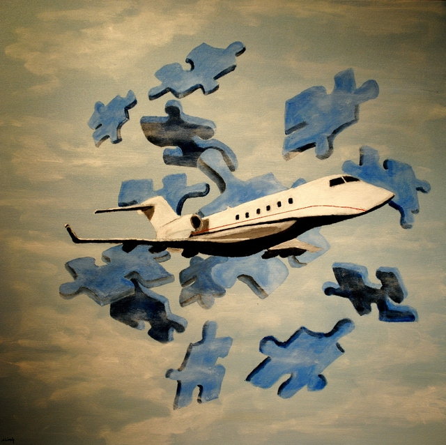 Artist Jim Lively. 'Corporate Jet' Artwork Image, Created in 2011, Original Photography Color. #art #artist
