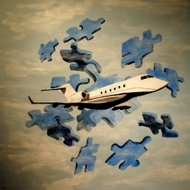 Corporate Jet  By Jim Lively