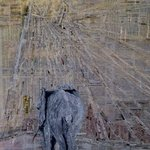 Elephant Crossing the Calatrava Bridge By Jim Lively