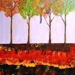 Falling Through Fall By Jim Lively
