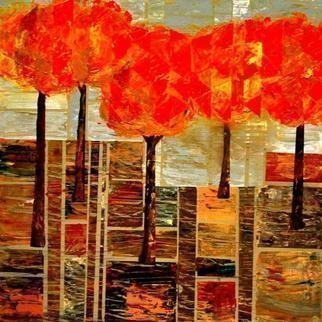 Jim Lively: 'Five For Fall', 2013 Acrylic Painting, Abstract.                                                 Acrylic and gallery wrapped canvas                                                                                                                                                  ...