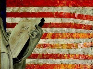 Artist: Jim Lively - Title: Fourth of July - Medium: Acrylic Painting - Year: 2013