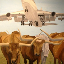 Herding Longhorns, Jim Lively