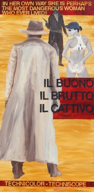 Artist Jim Lively. 'Il Buono Il Brutto Il Cattivo' Artwork Image, Created in 2009, Original Photography Color. #art #artist