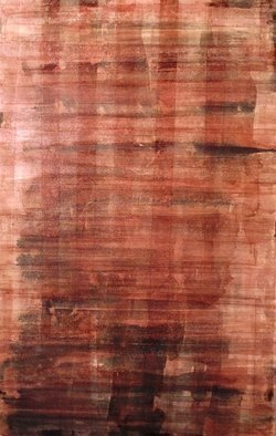 Jim Lively: 'In Syrah Veritas', 2014 Other, Abstract.  Syrah Wine on canvas. Part of