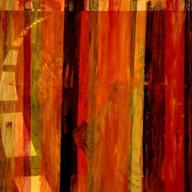 Jim Lively: 'Leaving New York City', 2013 Acrylic Painting, Abstract. Artist Description:         acrylic and metallic acrylics on canvas        ...