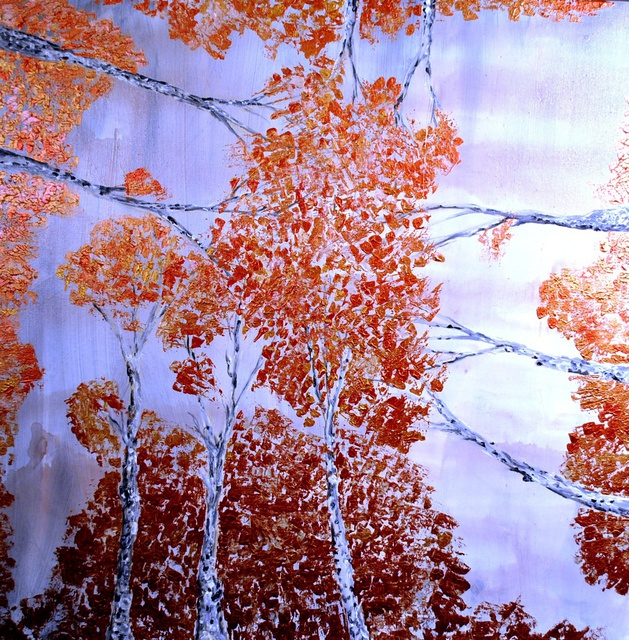 Jim Lively  'Malbec Aspens', created in 2014, Original Photography Color.