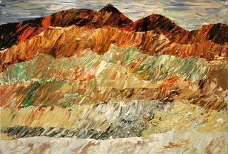 Jim Lively Artwork Merlot Mountain Range, 2014 Merlot Mountain Range, Abstract Landscape