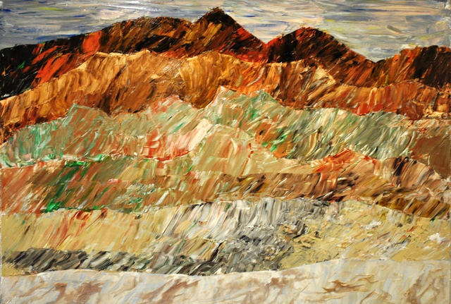 Jim Lively  'Merlot Mountain Range', created in 2014, Original Photography Color.