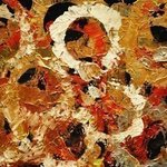 Metallic Abstract Eight By Jim Lively
