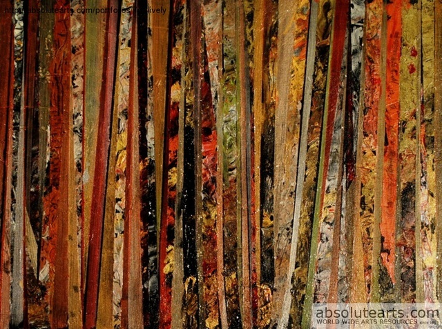 Jim Lively  'Metallic Abstract One', created in 2013, Original Photography Color.