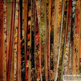 Metallic Abstract One By Jim Lively
