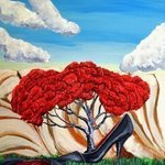 Ornamental Shoe Tree By Jim Lively