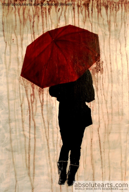 Jim Lively  'Raining Cabernet', created in 2013, Original Photography Color.