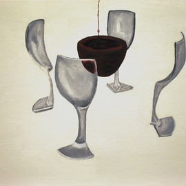 Splitting a Glass of Wine By Jim Lively