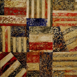 Jim Lively: 'State of the Union', 2013 Acrylic Painting, Abstract Figurative. Artist Description:              Acrylic and Cabernet Sauvignon Wine on canvas. Part of