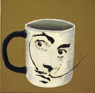 Jim Lively: 'Surreal Coffee Mug', 2012 Acrylic Painting, Surrealism.                                        Acrylic and gallery wrapped canvas                                                                                                                                         ...