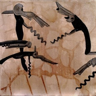 Other by Jim Lively titled: Swarming Wine Bottle Openers, 2013