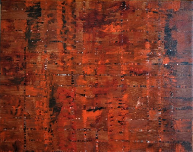 Jim Lively  'Burnt Orange Integrity', created in 2019, Original Photography Color.