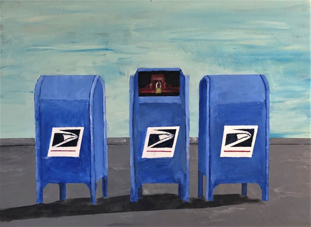 Jim Lively  'Going Postal 2020', created in 2020, Original Photography Color.