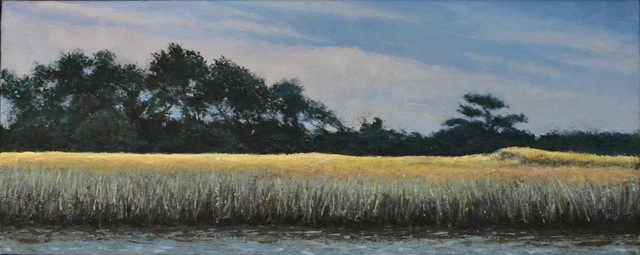 James Morin  'Ogunquit River Sea Grass', created in 2020, Original Painting Oil.