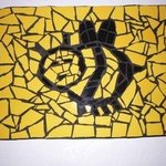 MOSAIC BEE WALL HANGING By James Rose