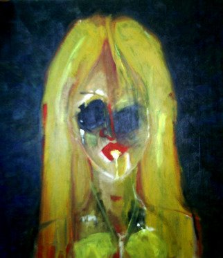 Jimy Portal Artwork Felafiona, 2008 Oil Painting, Surrealism