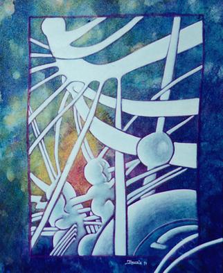 Jean-luc Lacroix Artwork Souche 7 painting, 1994 Souche 7 painting, Abstract