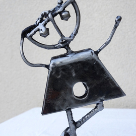 Jean-luc Lacroix Artwork TOTOCHE, 2014 Steel Sculpture, Children