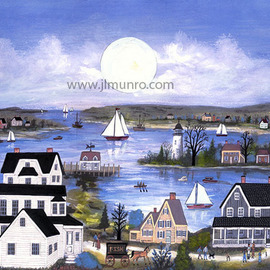 Buzzards Bay  By Janet Munro