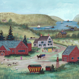 Farm On The Hudson, Janet Munro