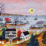 HALLOWEEN ON CAPE COD By Janet Munro