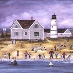 SANDY NECK LIGHT HOUSE By Janet Munro
