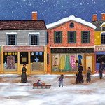 Winter on Main Street By Janet Munro