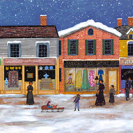 Winter On Main Street, Janet Munro