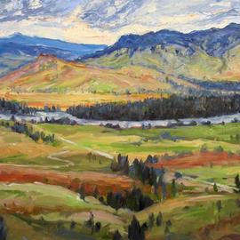 Flathead River Valley Montana